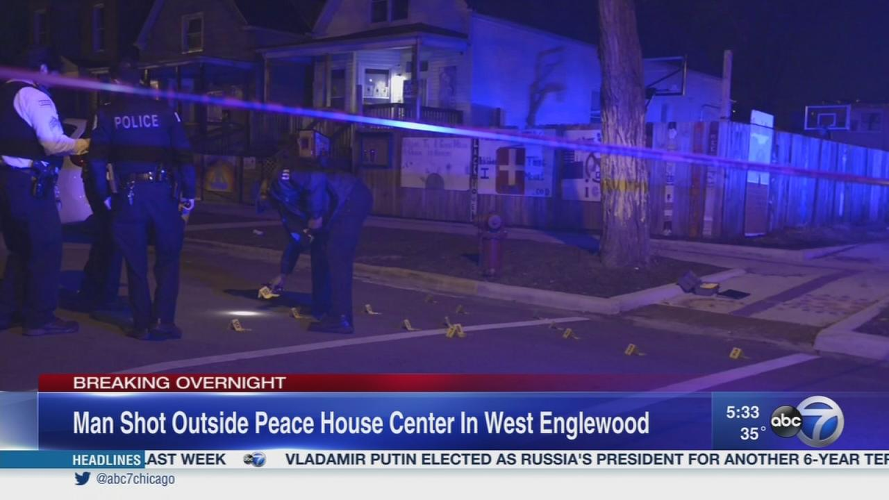 Man shot outside West Englewood community center