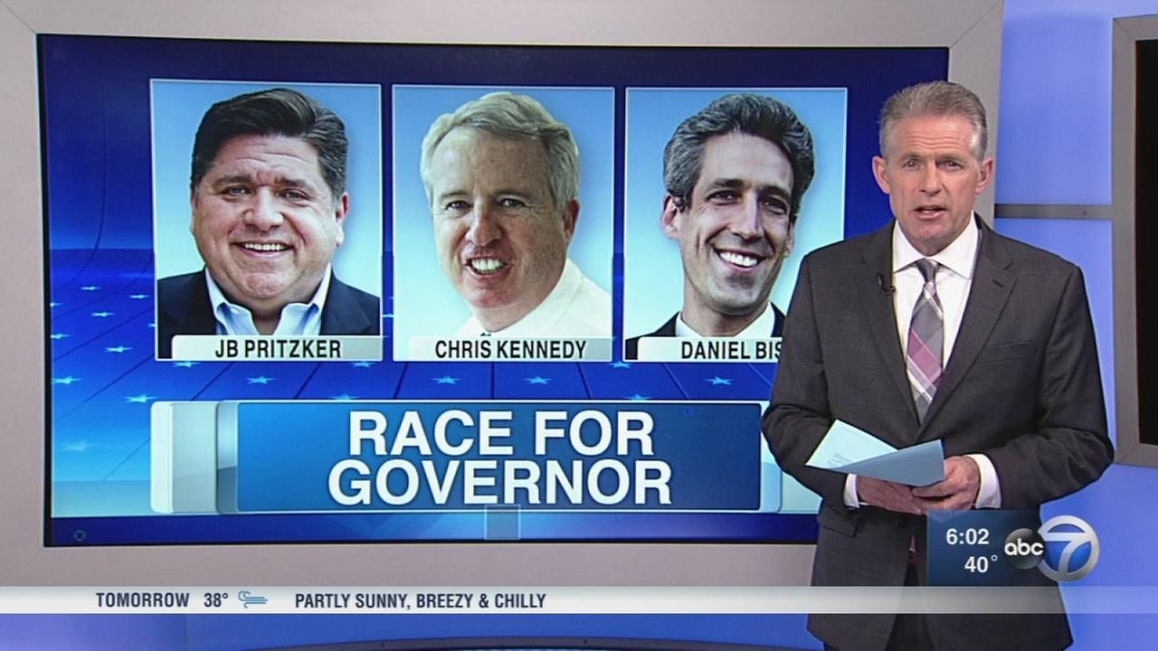 Democrats governor race narrows on eve of primary