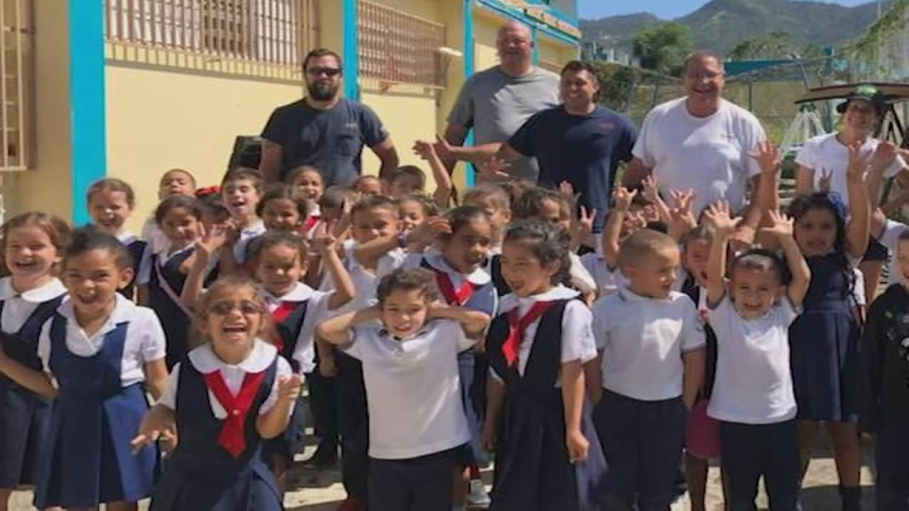 ComEd crews rebuild playground in Puerto Rico
