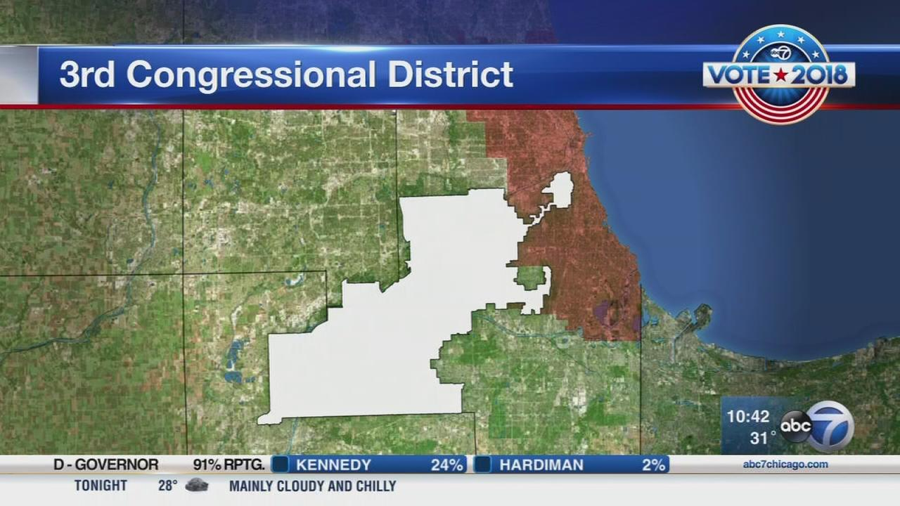 No winner yet as Newman seeks to unseat US Rep. Lipinski in 3rd District