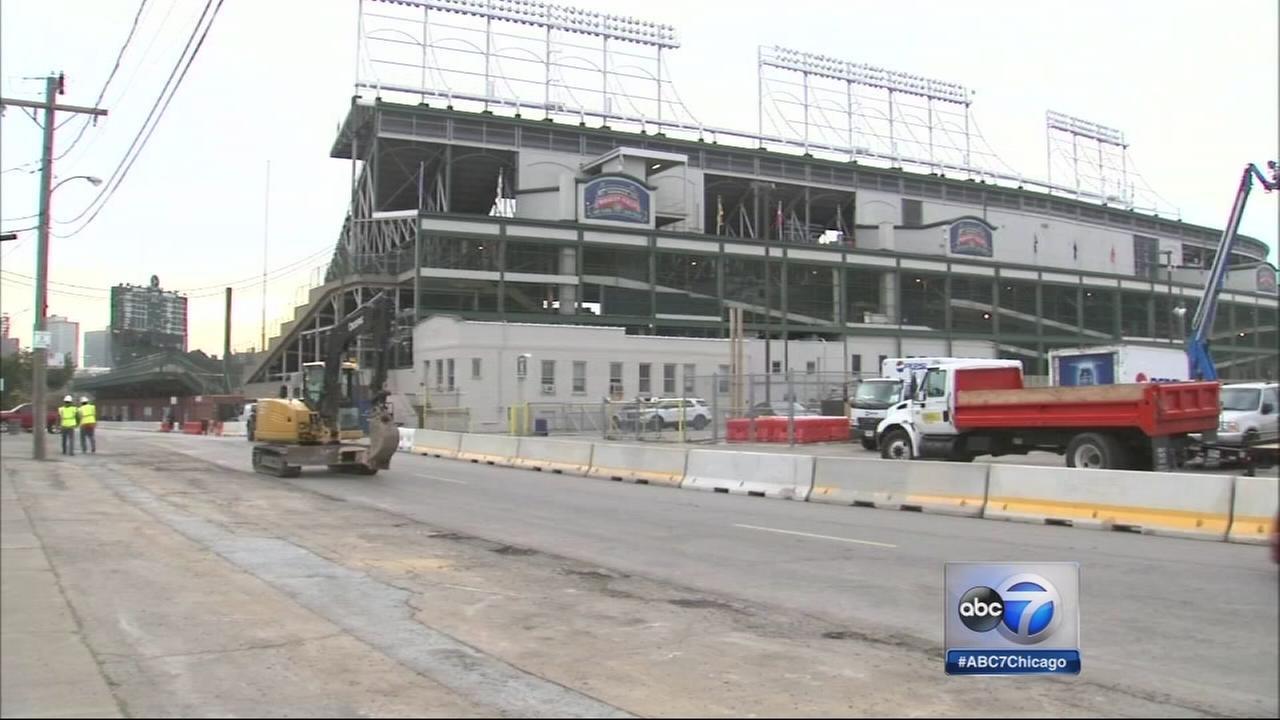 Cubs renovation begins
