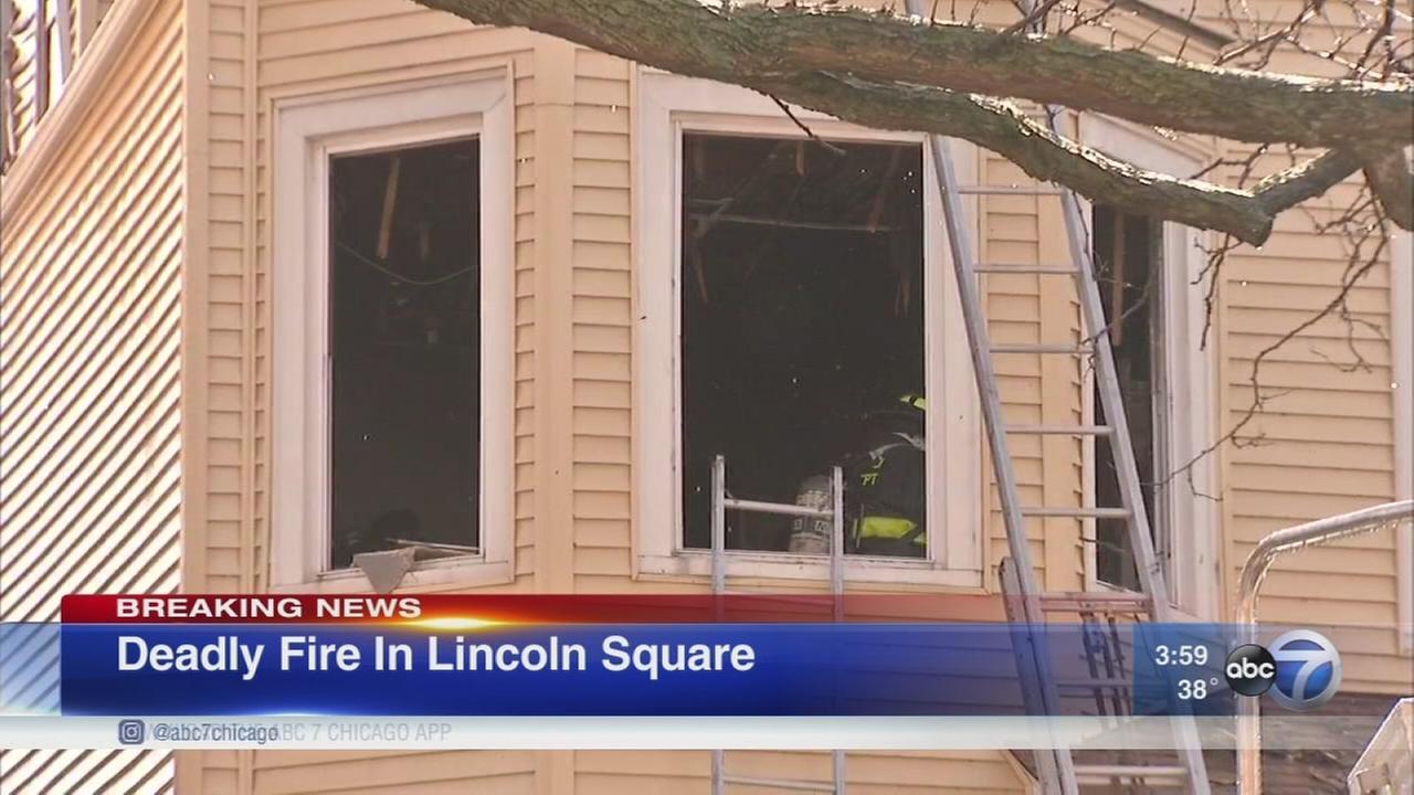 1 dead in Lincoln Square fire