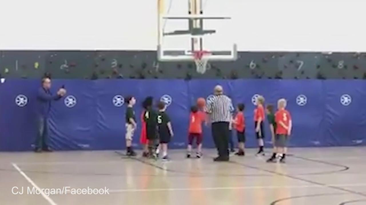 Ref stops game to let St. Charles boy with autism get a basket
