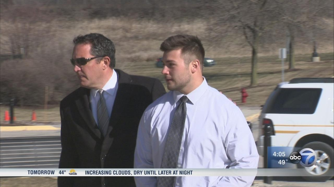 Former Wheaton College football player pleads guilty in hazing case