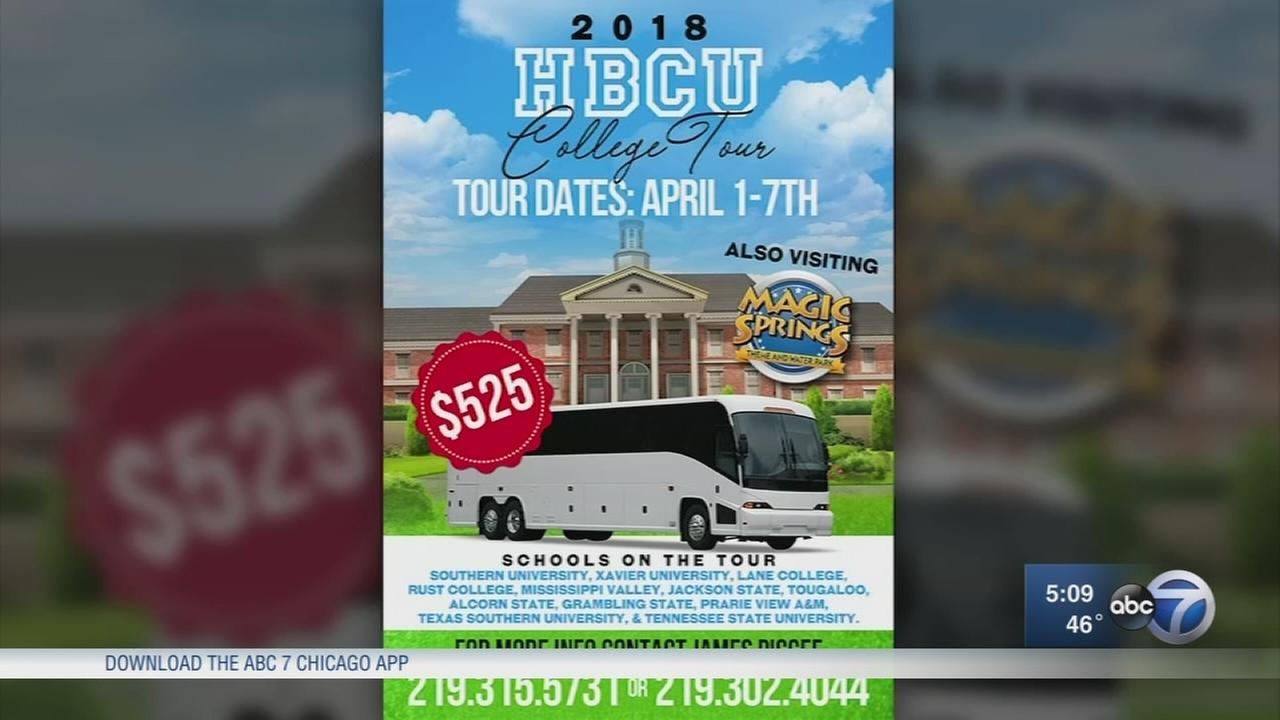 Gary mayor warns parents about college tour operator