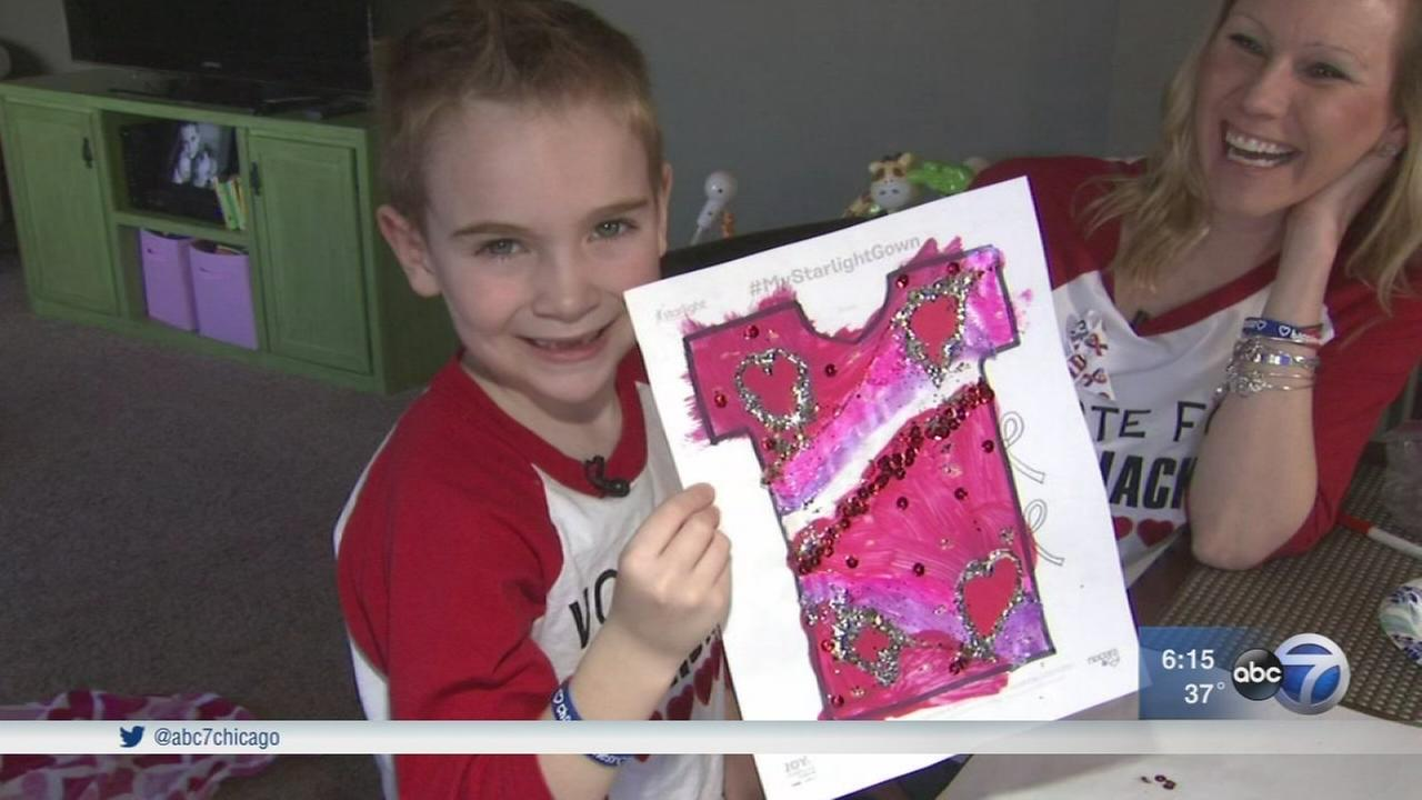 Crystal Lake boy finalist in childrens hospital gown design competition