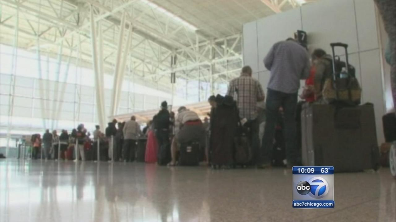 Airport closures ripple across Midwest