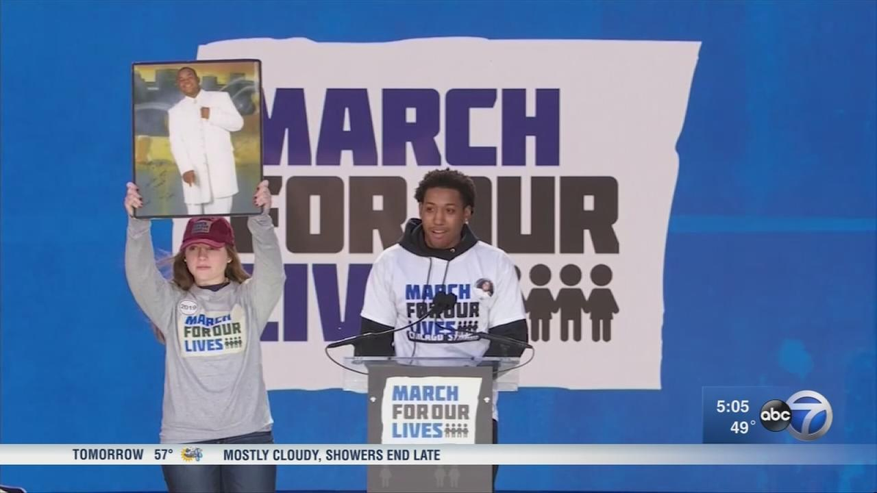 Chicago youth speak at March for Our Lives in D.C.
