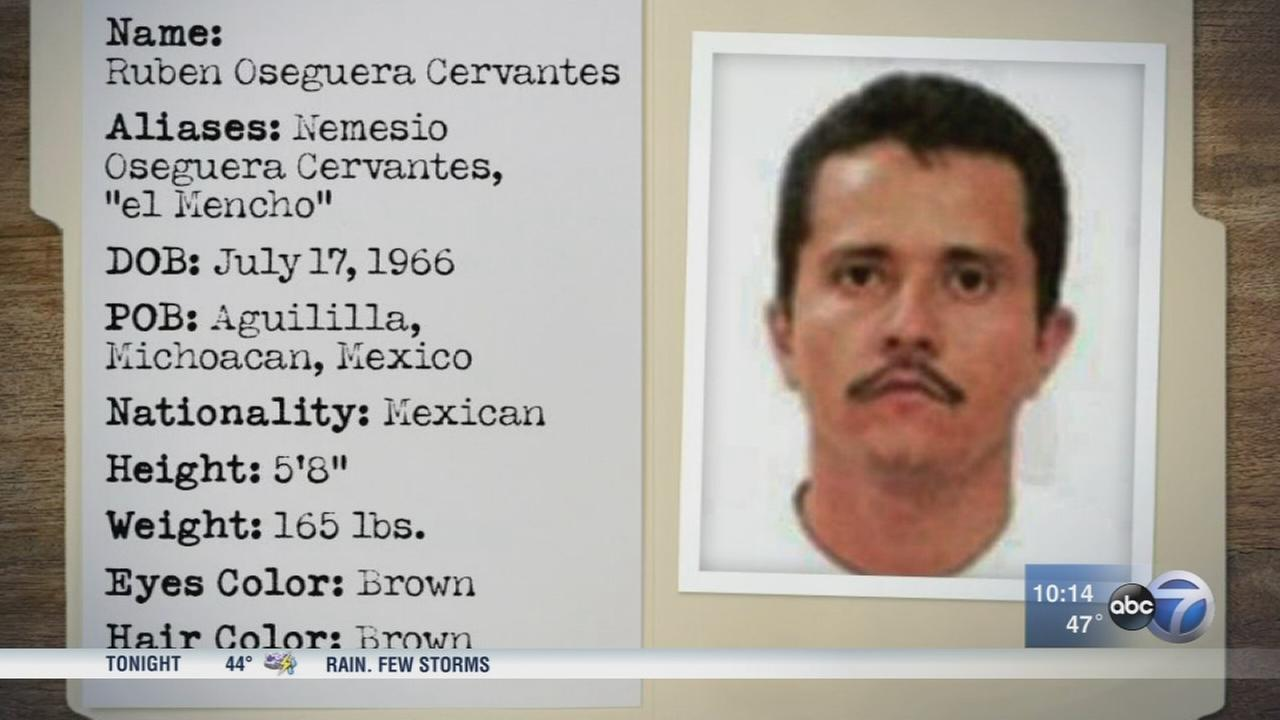 Chicagos new top narco lawman sets sights on El Mencho accused cartel boss