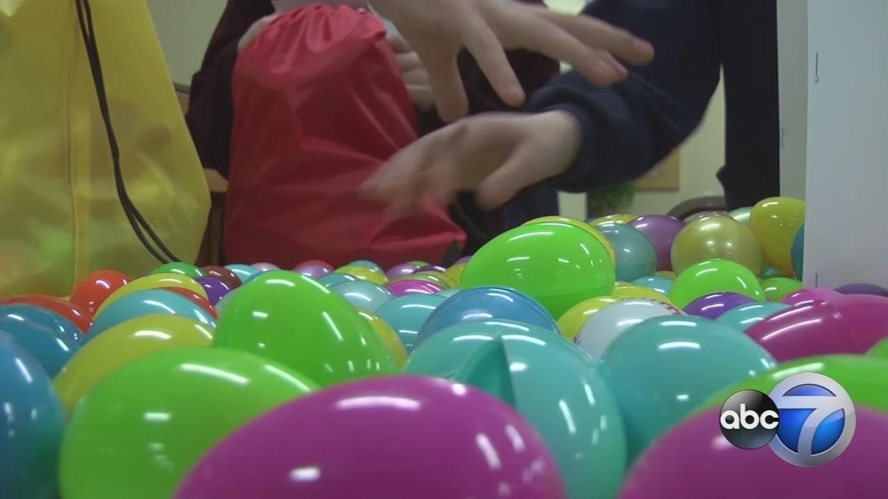 Homeless kids to receive donated Easter baskets