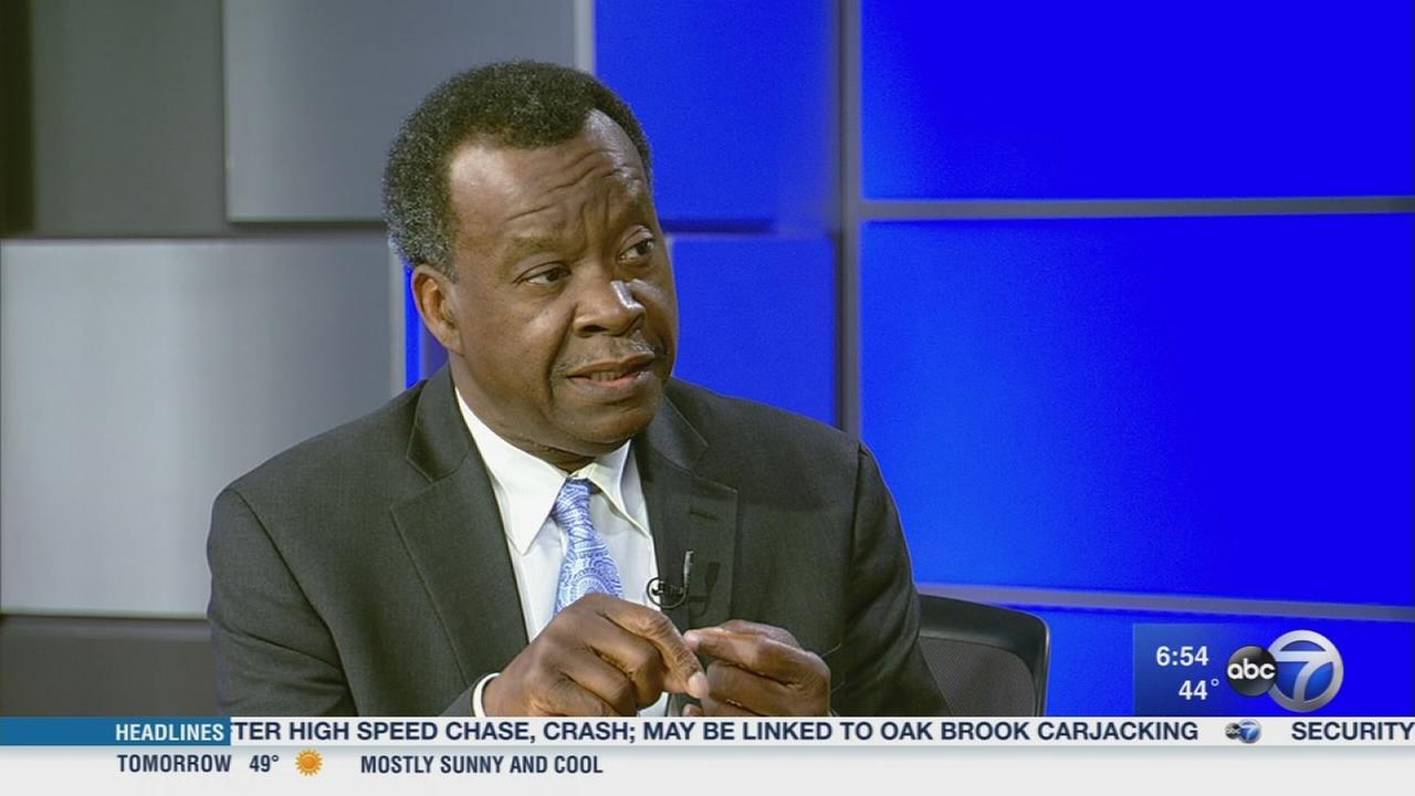 Business man Willie Wilson discusses mayoral run