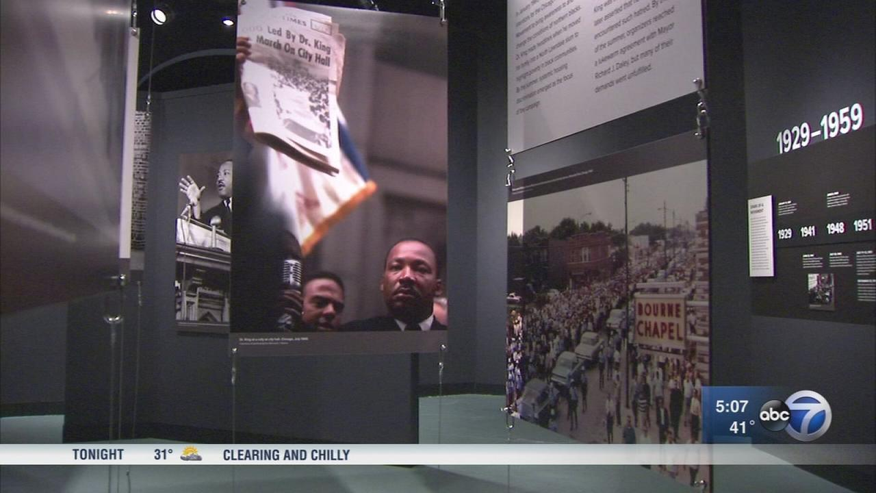 Chicago History Museum Remembers Legacy of Martin Luther King, Jr.