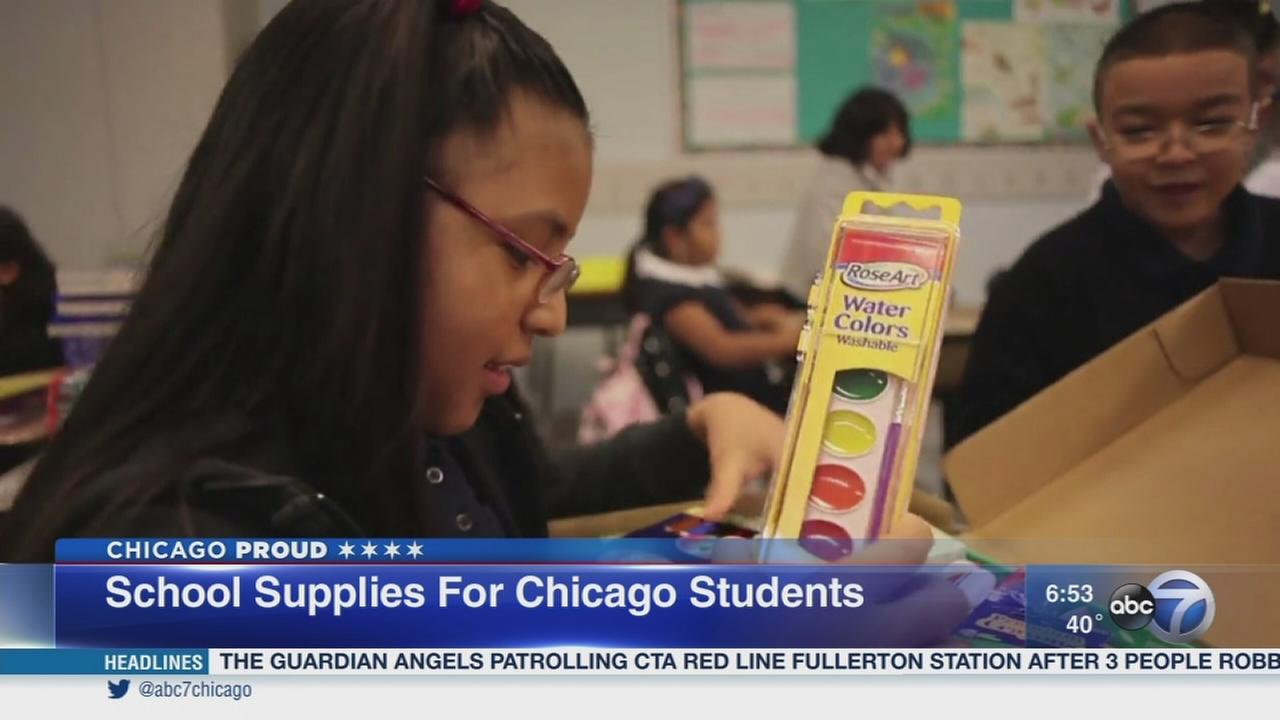 Contest to win year of supplies for Chicago schools announced