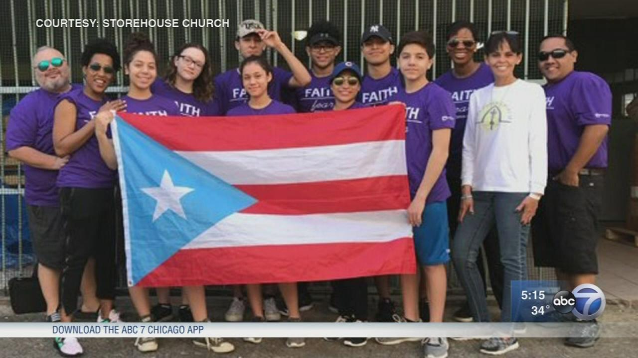 Chicago students return from Puerto Rico hurricane relief trip