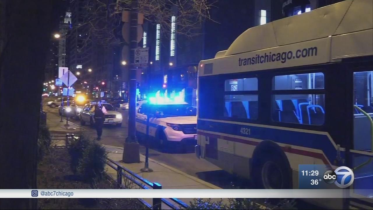 Woman stabbed on CTA bus on Mag Mile