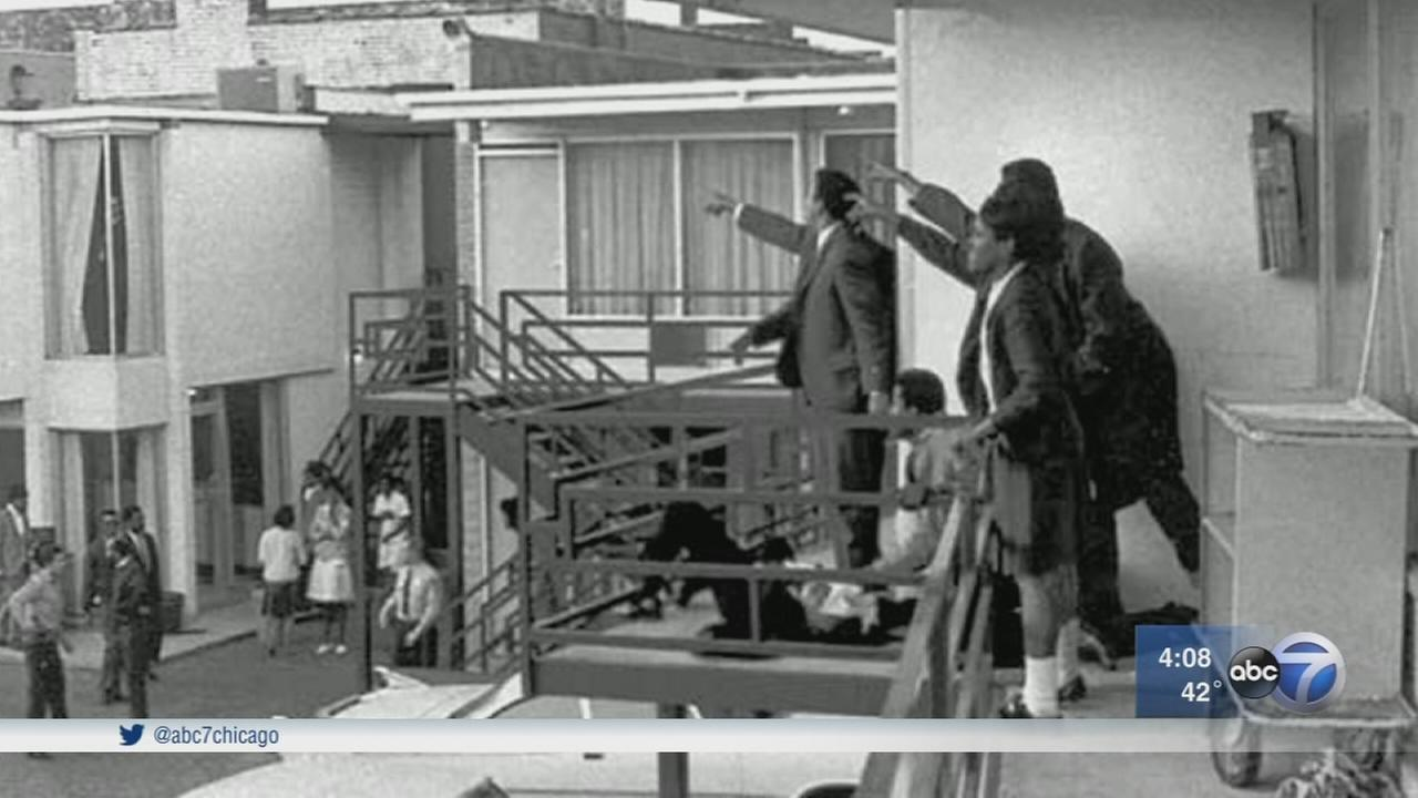 Visitors travel to Lorraine Motel, where MLK was shot