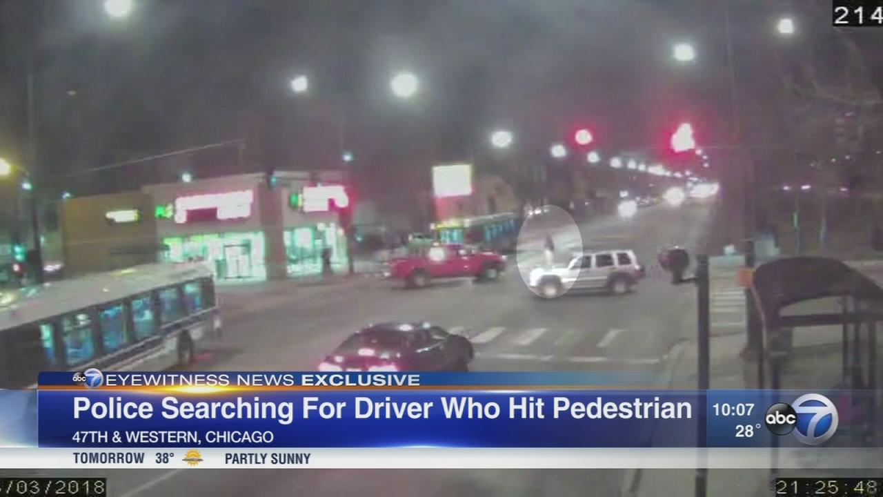 Video shows hit-and-run that injured man on Southwest Side