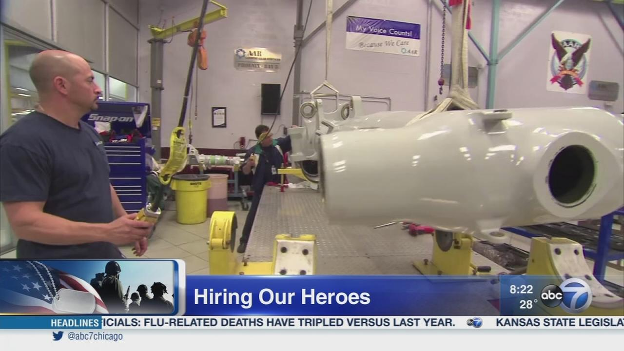 Hiring our Heroes Expo seeks to help service members, veterans