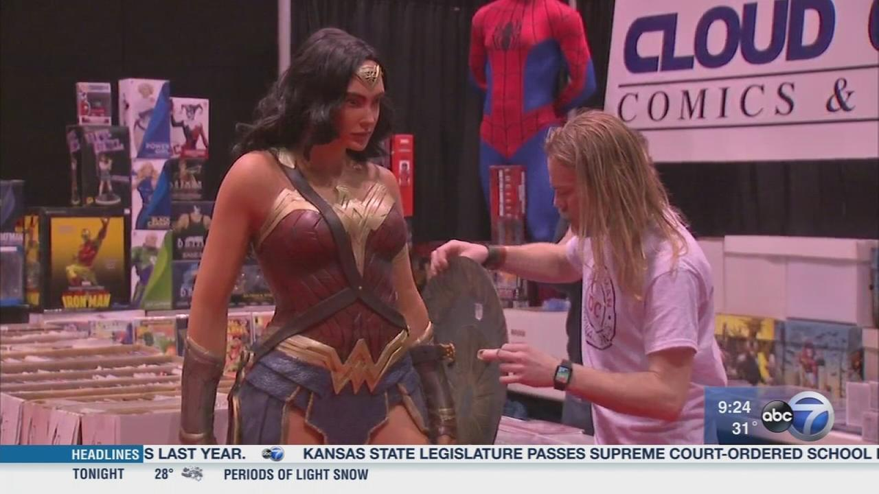 Chicago Comic and Entertainment Expo held Sunday