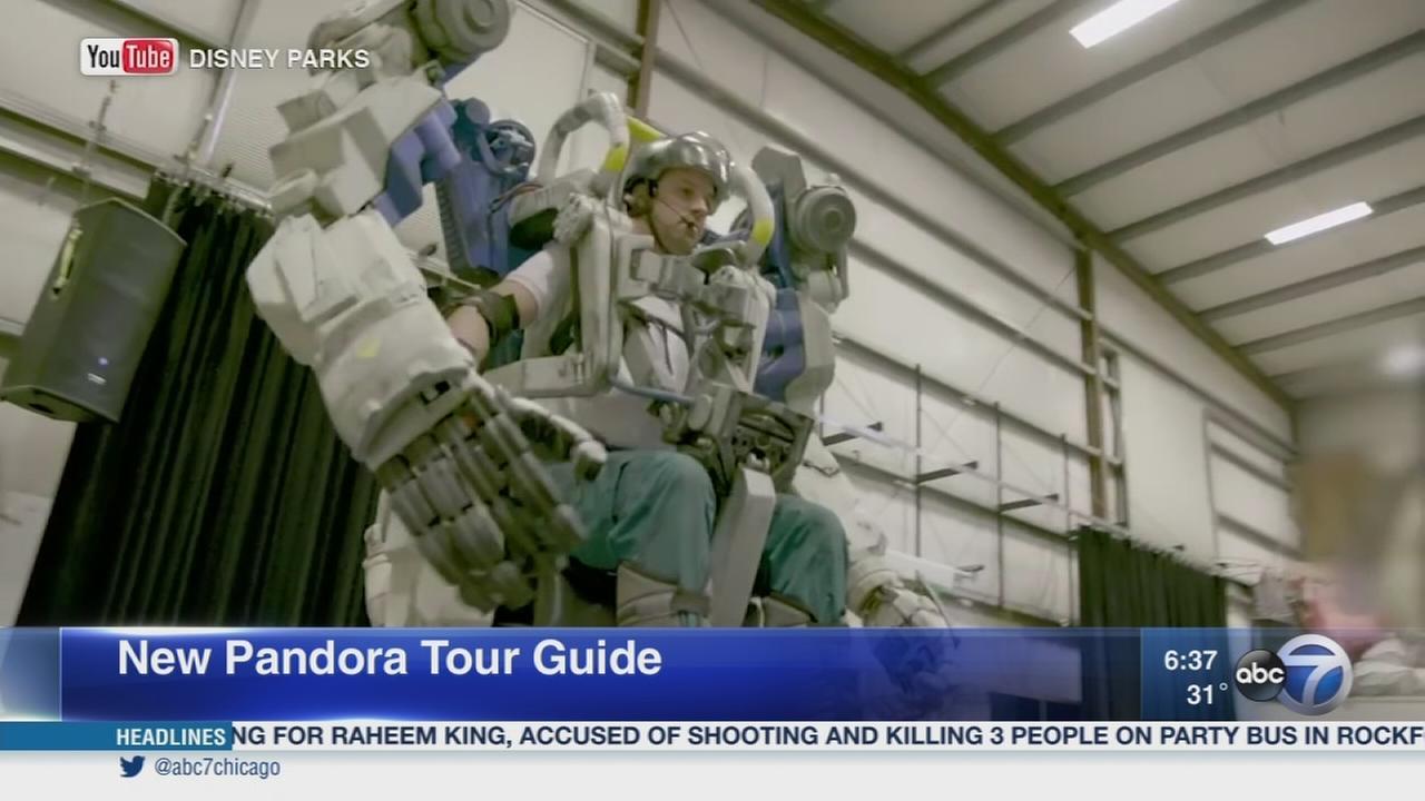Giant robots tour guides to premiere at Disneys Animal Kingdom