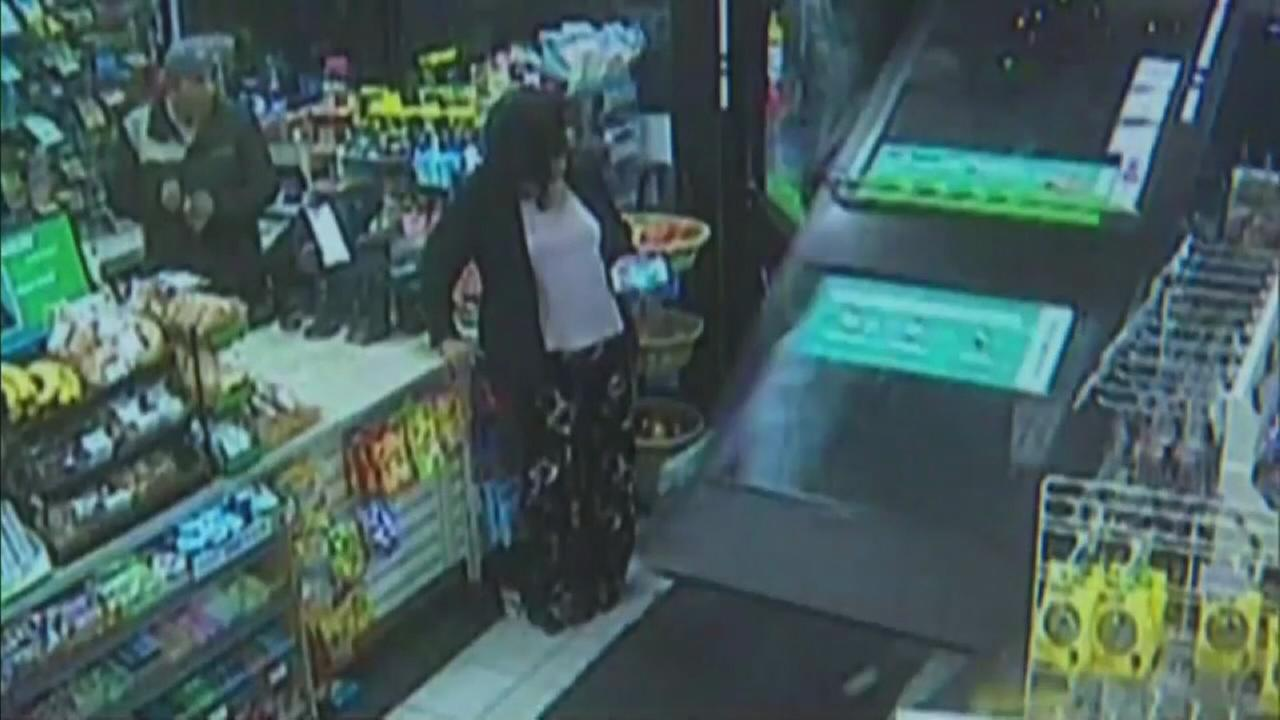 WATCH: SUV plows into 7-Eleven, narrowly missing customer