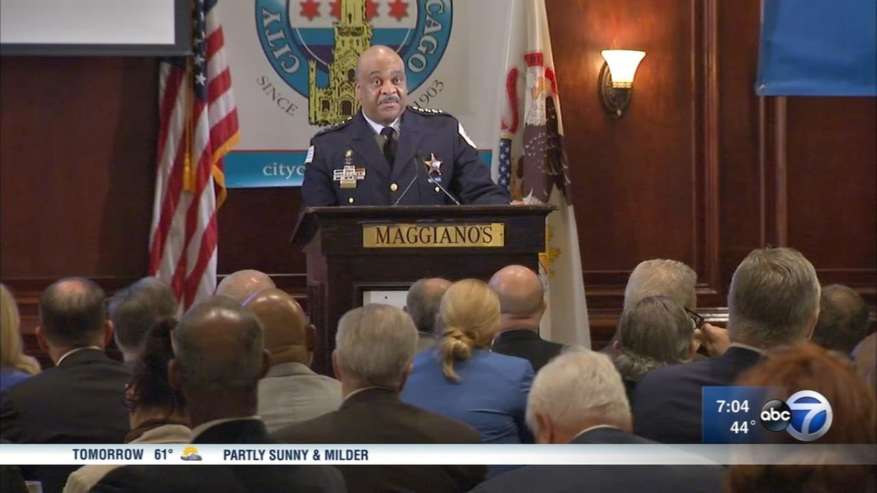 Chicago police Supt. Eddie Johnson says new reforms are coming