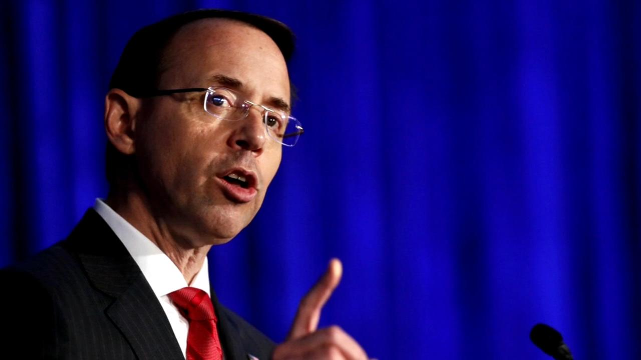Donald Trump considering firing Rod Rosenstein to check Robert Mueller