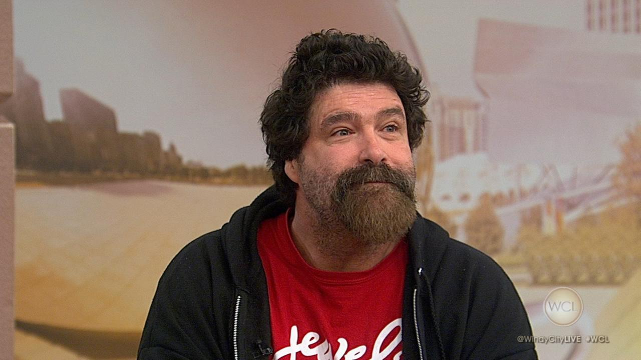 Wrestler, comedian Mick Foley to perform at Zanie's