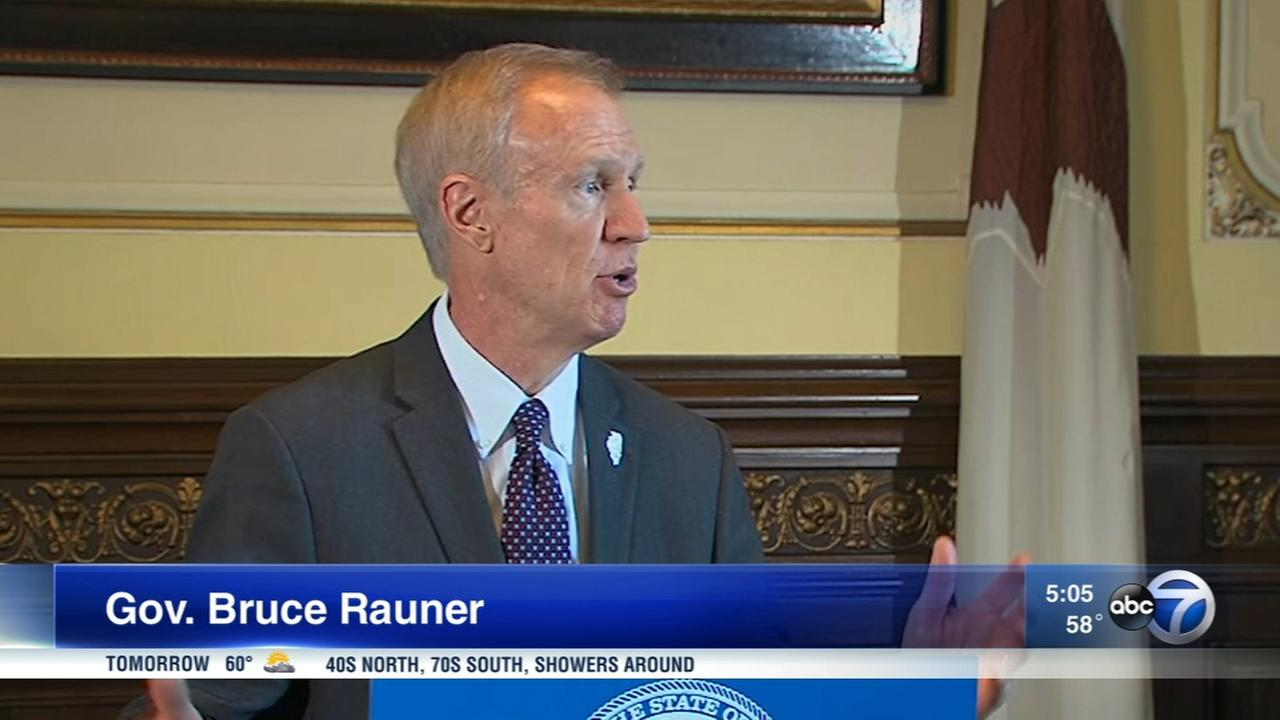 Rauner meets with legislators to discuss budget