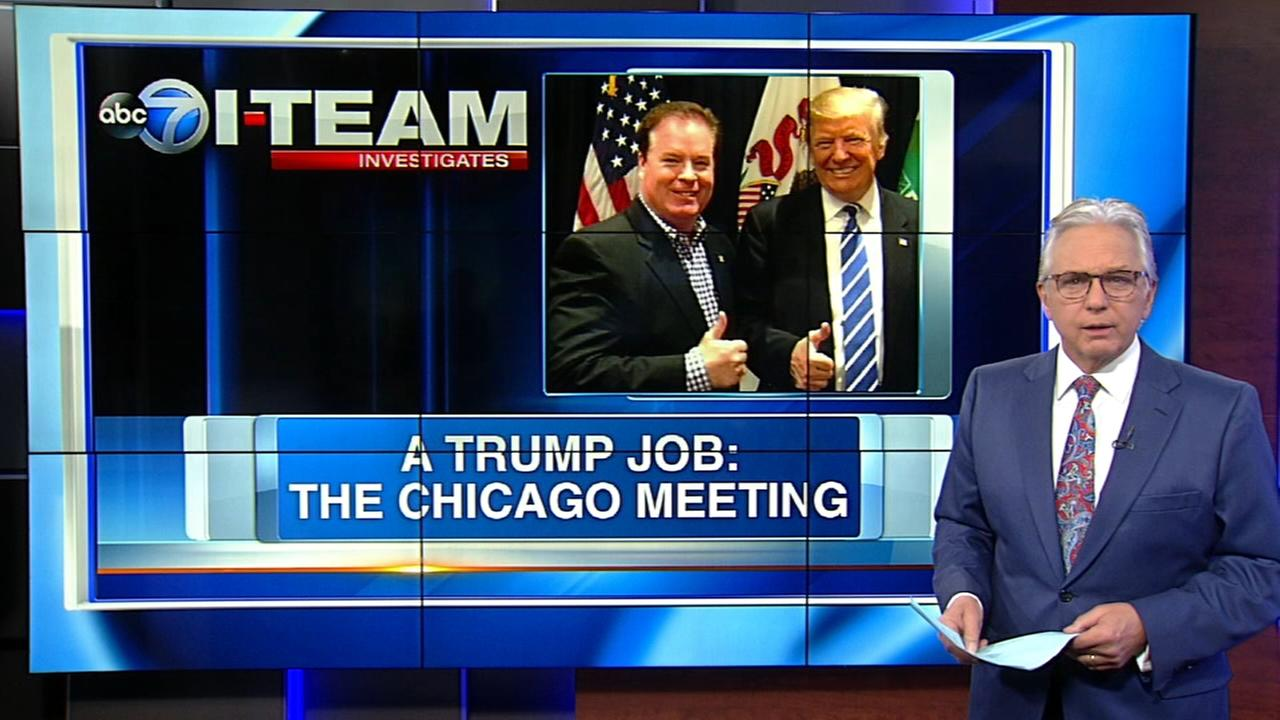 Chicago banker met here with Army official about Trump post