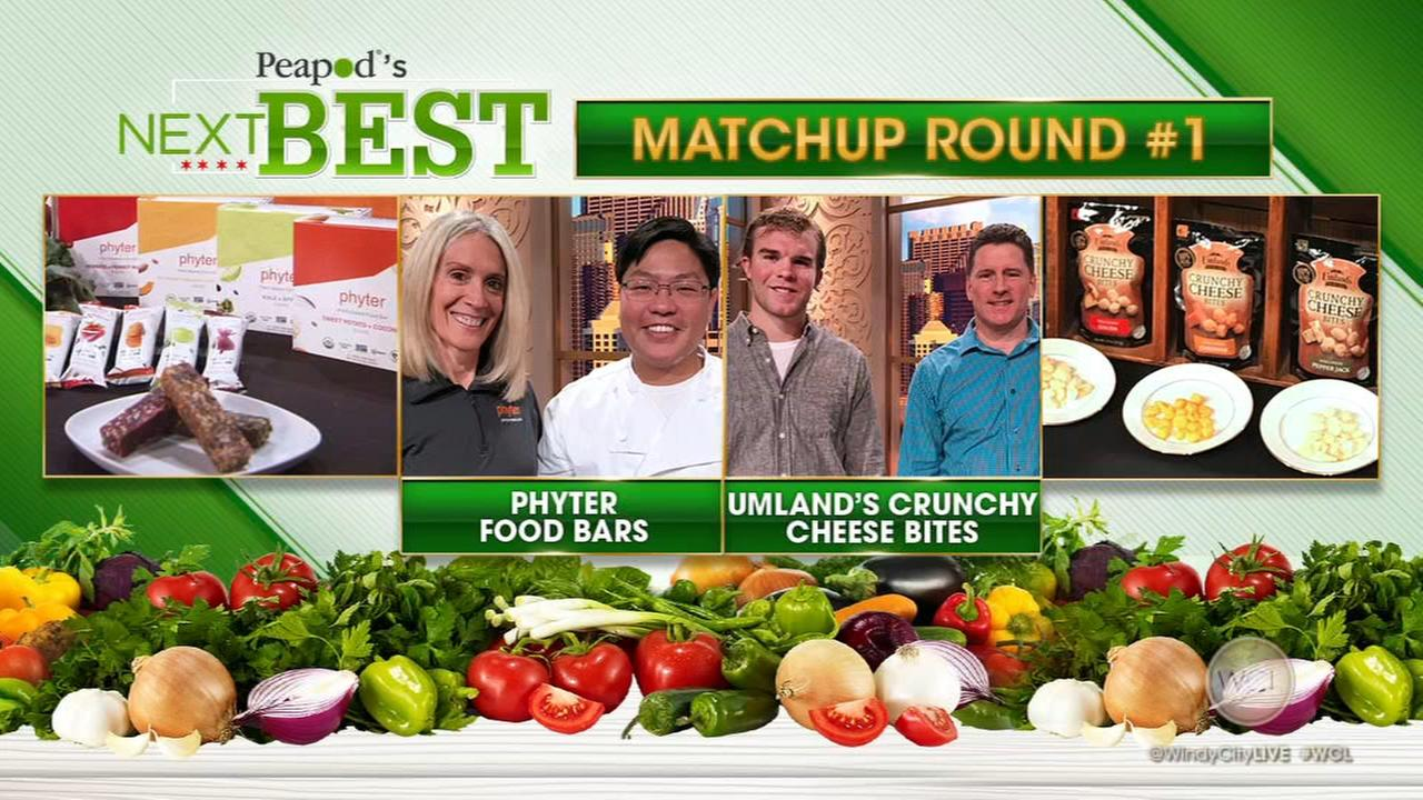 'Peapod's Next Best' finalists, Round 1: Phyter vs. Umland's