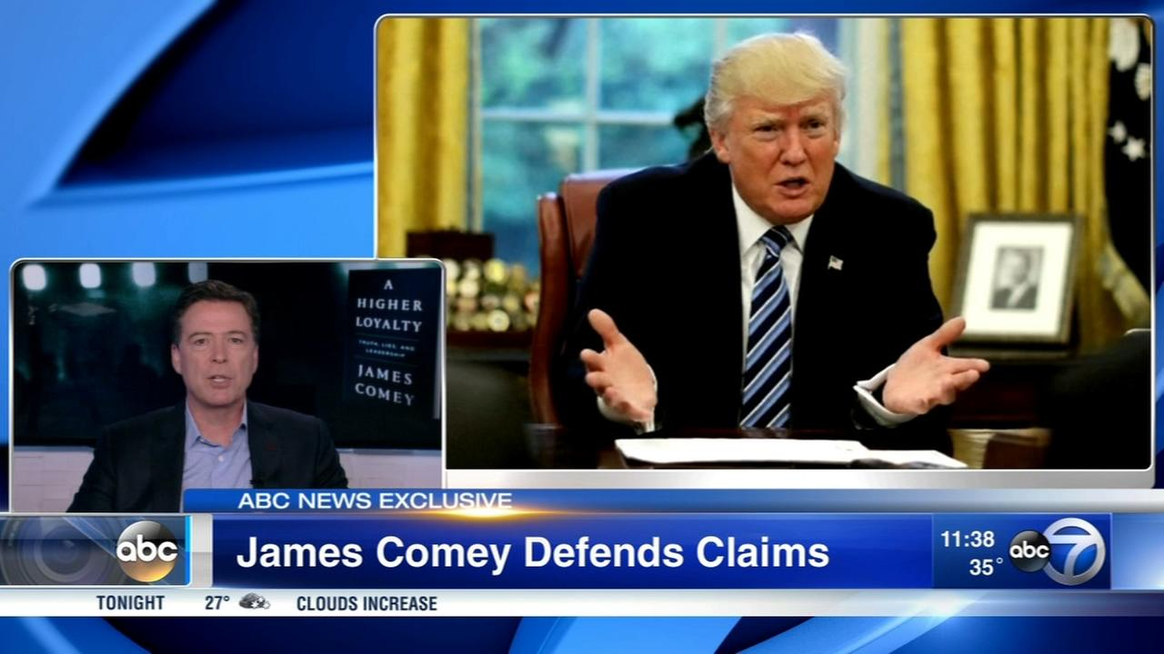 Comey says Trumps actions should worry everybody