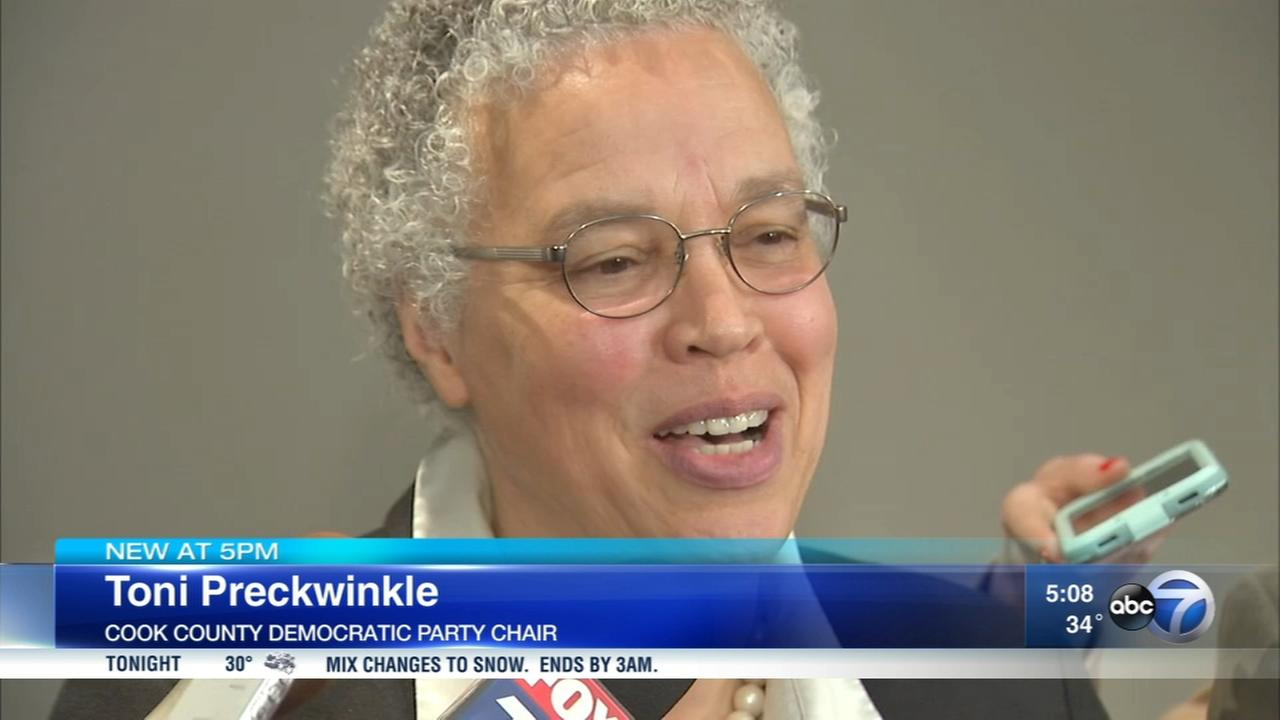 Preckwinkle named chair of Cook County Democratic Party