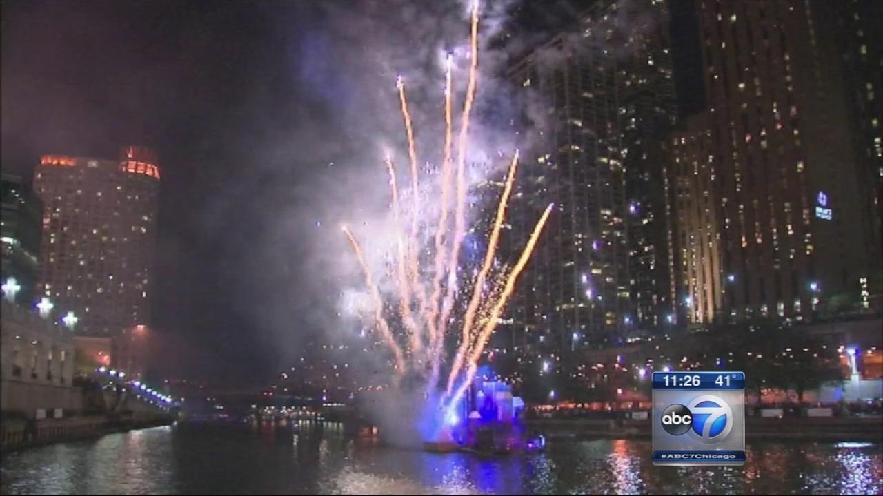 Great Chicago Fire Festival debuts on Chicago River