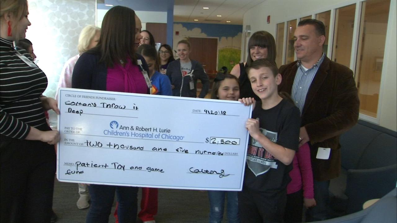 Children at Lurie score big thanks to former patient donation