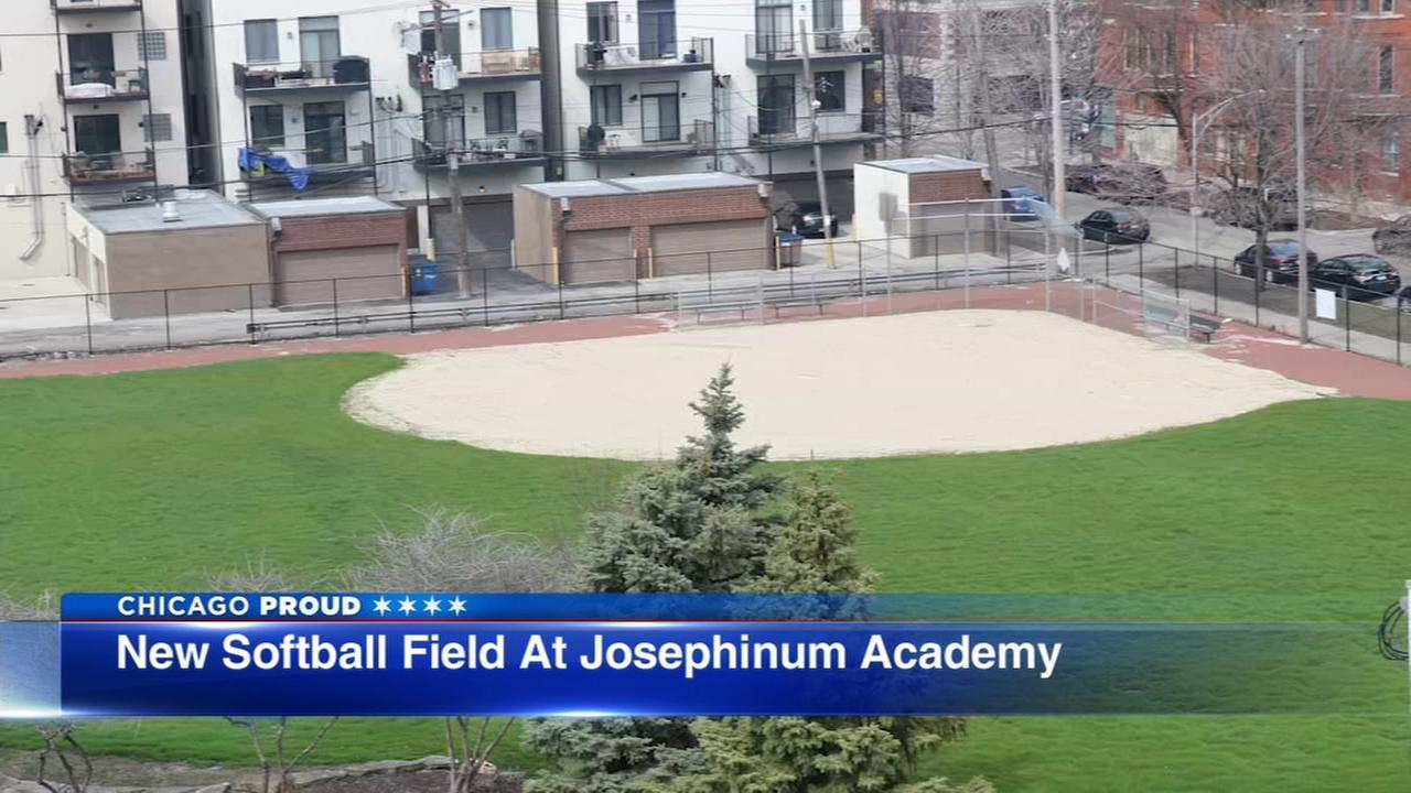 Joesphinum Academy receives Cubs Charities Diamond Project grant