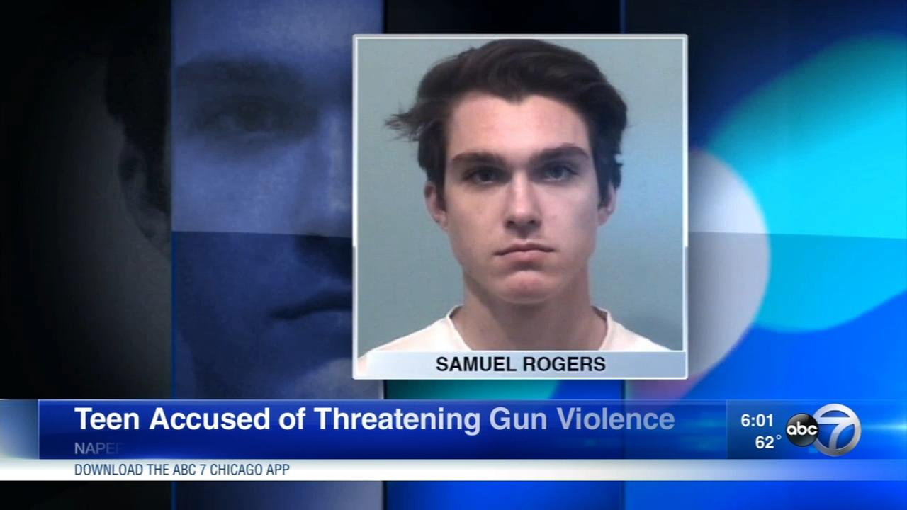 Teen accused of threatening gun violence against Naperville school