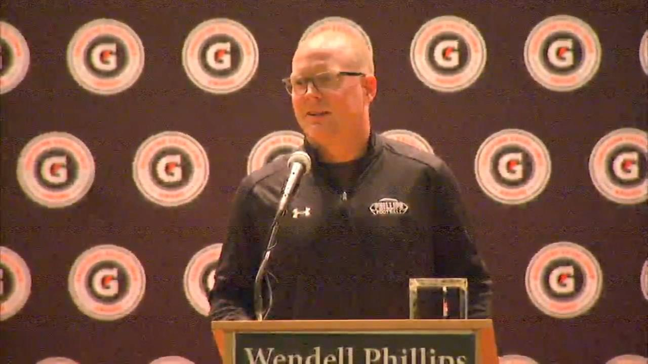 Phillips Academy football coach honored for turning team around