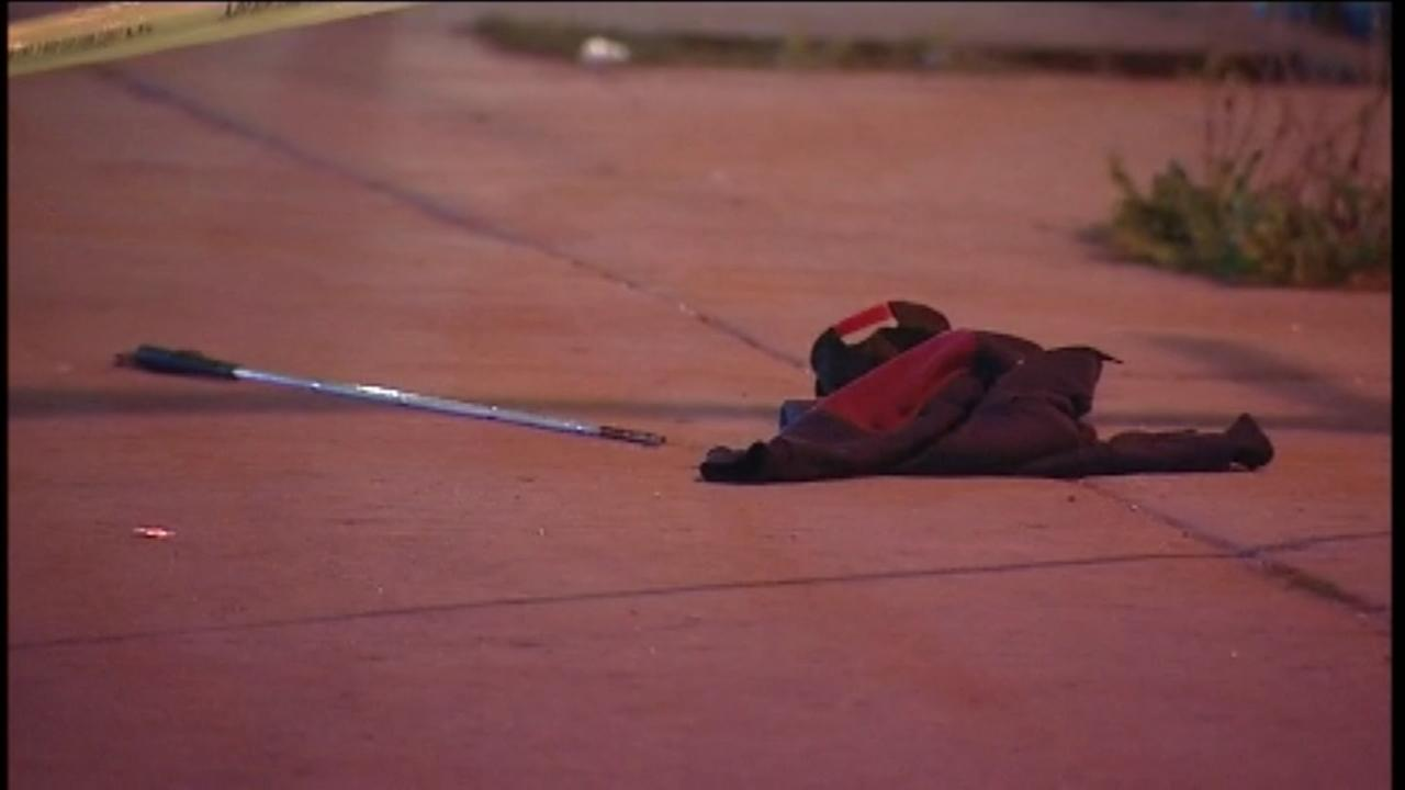 Blind man fatally shot in West Side drive-by