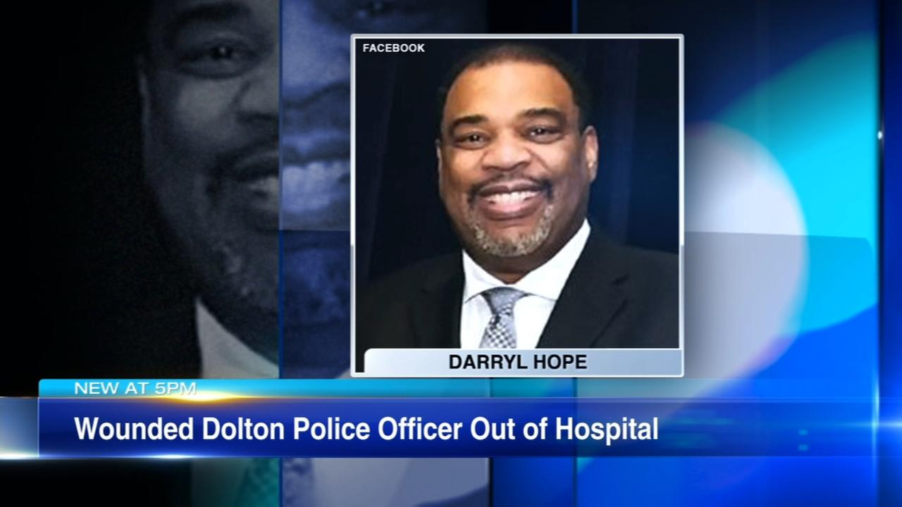 Wounded Dolton police officer released from hospital