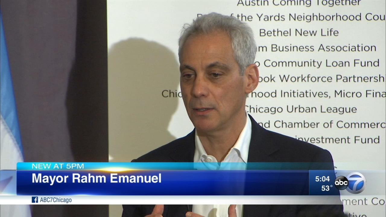 Mayor Rahm Emanuel announces small business reforms