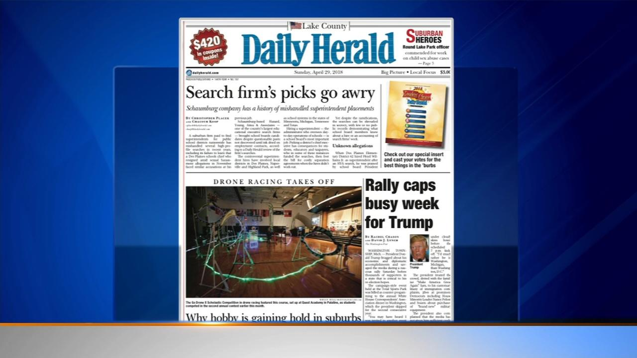 Daily Herald: Controversial Schaumburg educational executive search firm