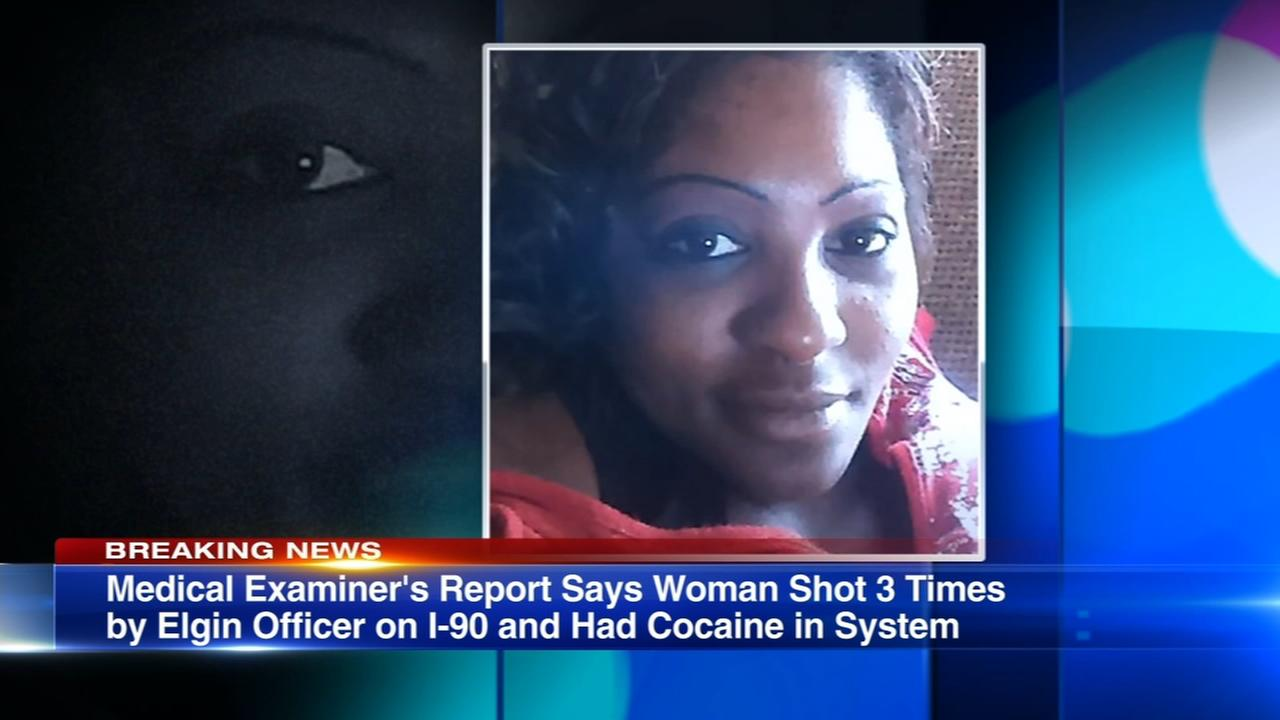 Report: Elgin woman shot 3 times by police