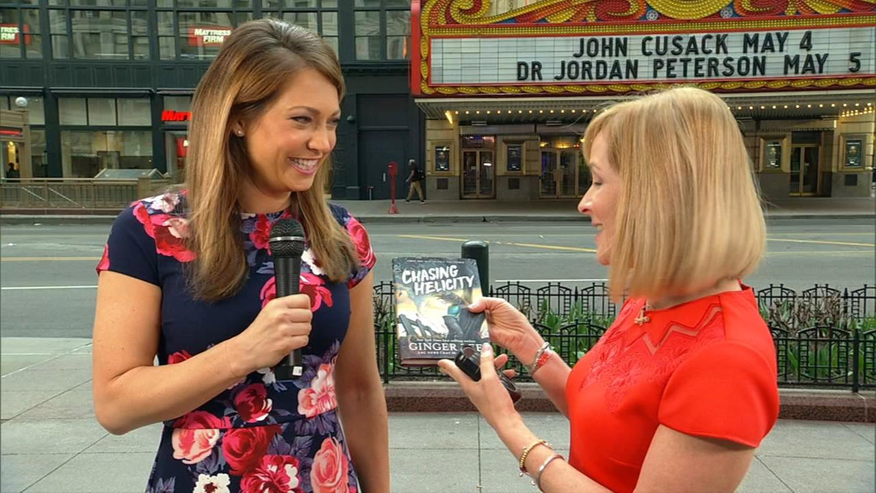 Ginger Zee to speak on Chasing Helicity in Naperville