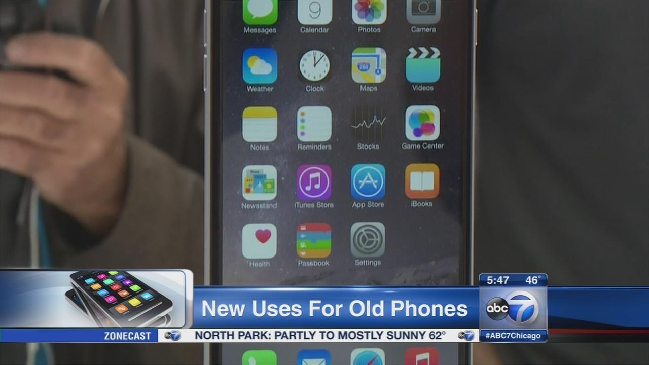 New uses for old smartphones