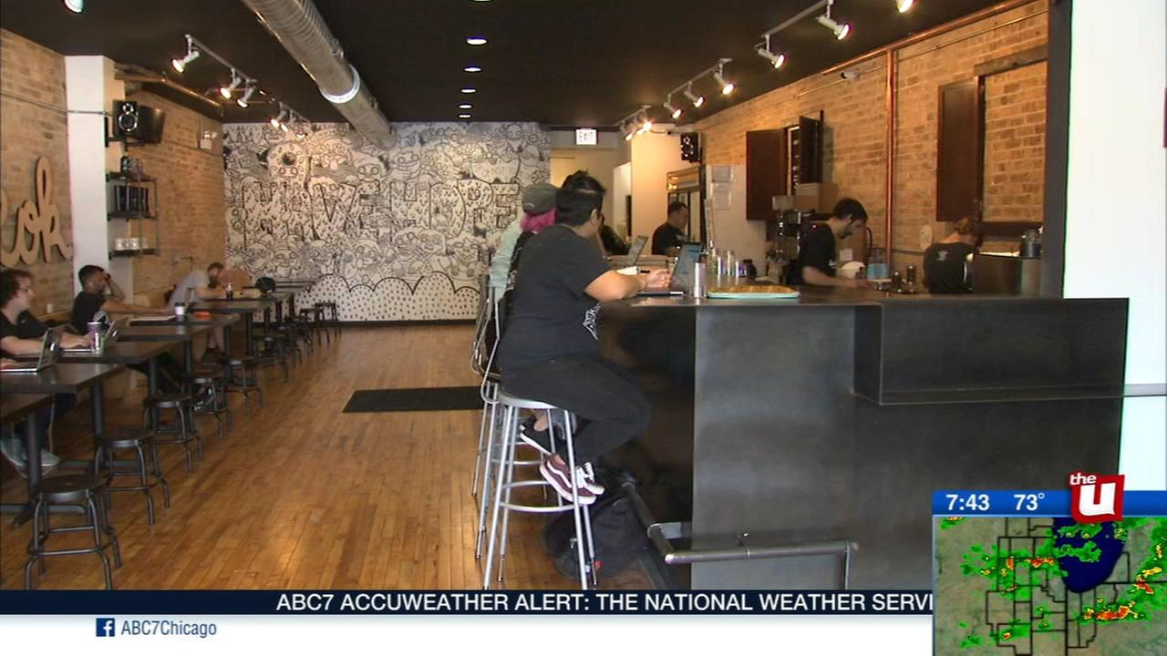 Logan Square coffeeshop Sip of Hope funds suicide prevention
