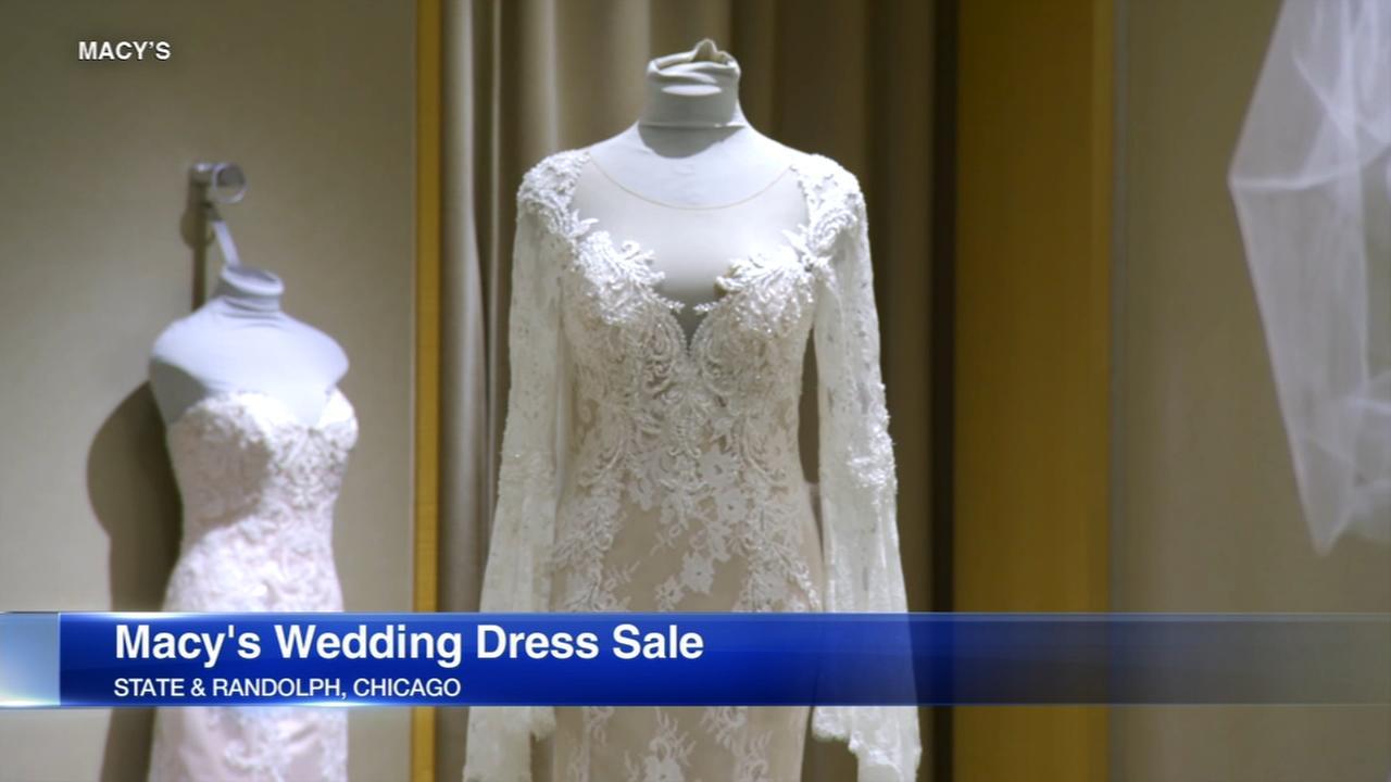 Macys wedding dress sample sale this weekend