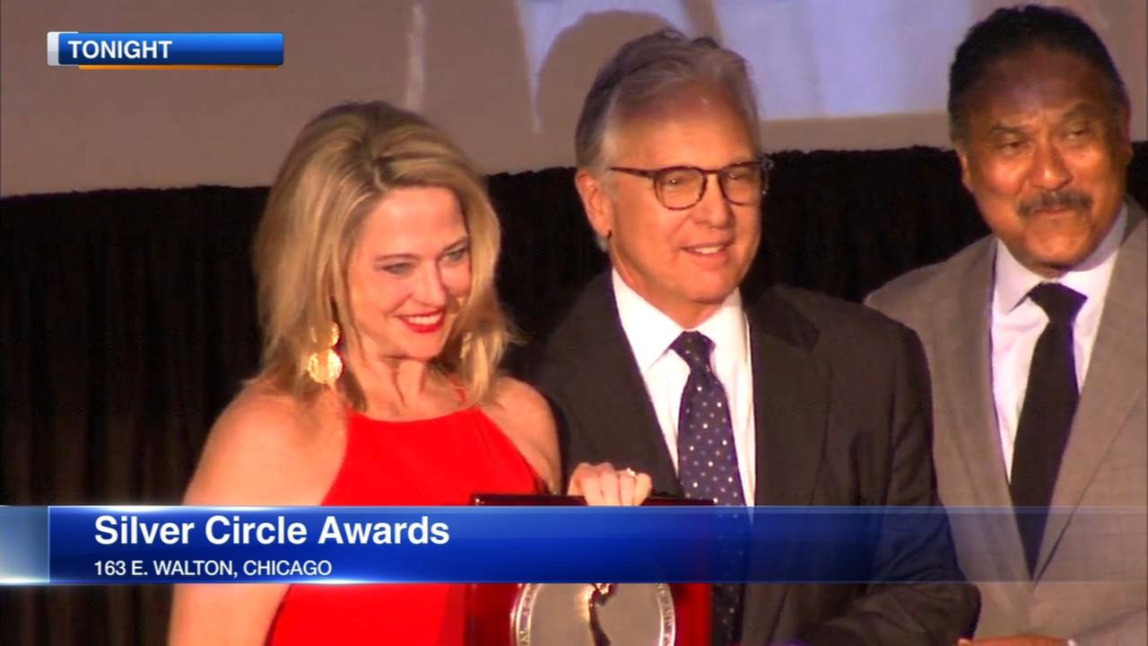 ABC7 I-Teams Chuck Goudie honored at Silver Circle Awards