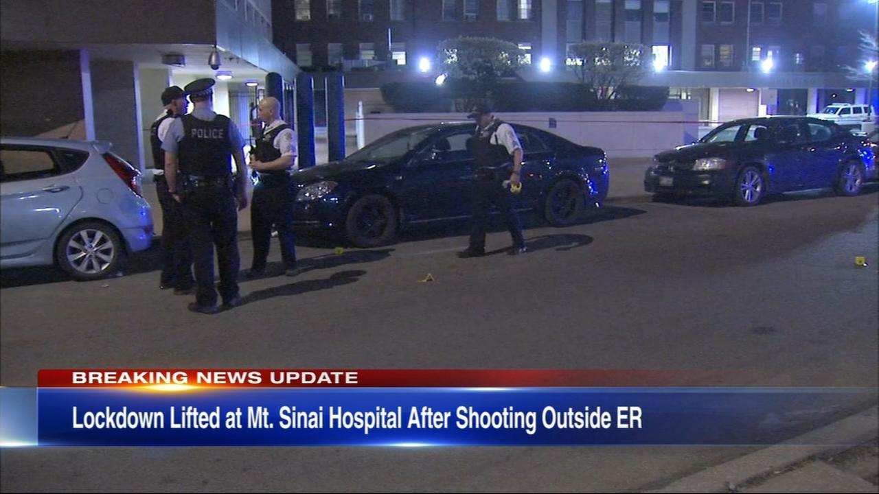 Lockdown lifted at Mt. Sinai Hospital after shooting outside ER