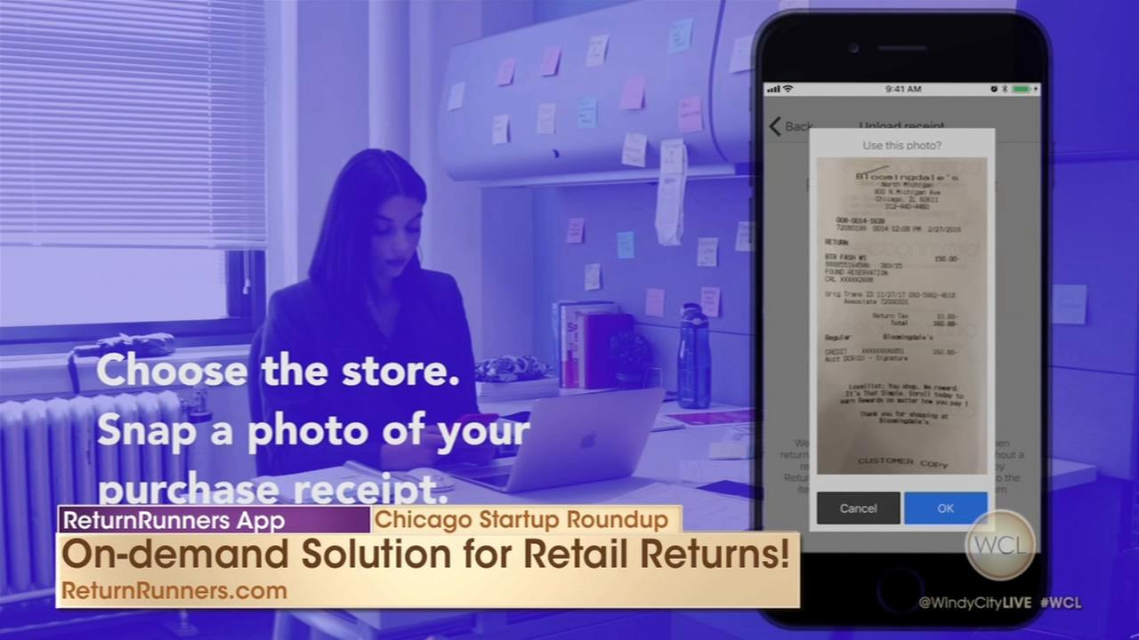Chicago Startup Roundup: ReturnRunners and Rapunzl apps